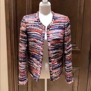 IRO tweed jacket, multi color